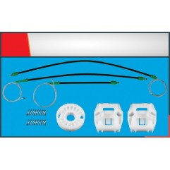 GOLF WINDOW REGULATOR CABLE FRONT RIGHT/LEFT SET (...