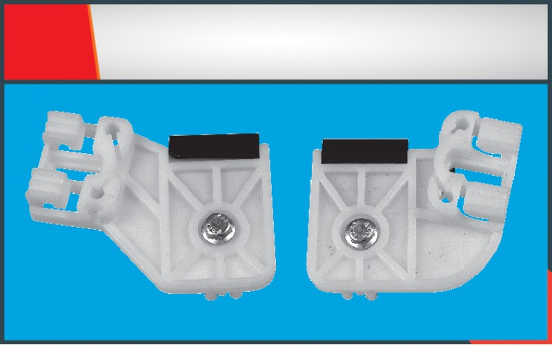 POLO NEW MODEL WINDOW REGULATOR CLIPS FRONT- RIGHT  RAB SET