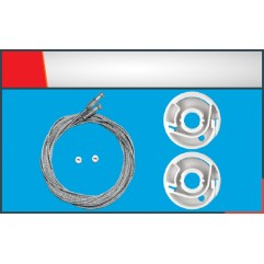 CARAVELLE SIDE DOOR  SLIDING CABLE RIGHT SET