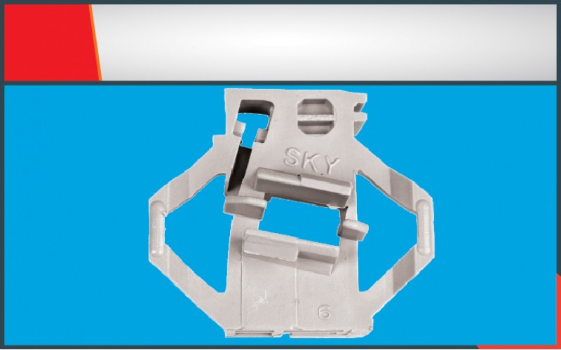 POLO CLASSIC WINDOW REGULATOR CLIP FRONT- RIGHT(6)