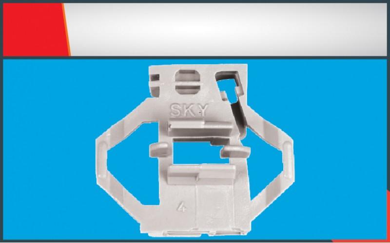 POLO CLASSIC WINDOW REGULATOR CLIP REAR RIGHT (4 )