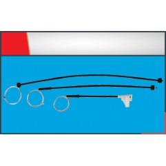 POLO CLASSIC WINDOW REGULATOR CABLE FRONT- LEFT