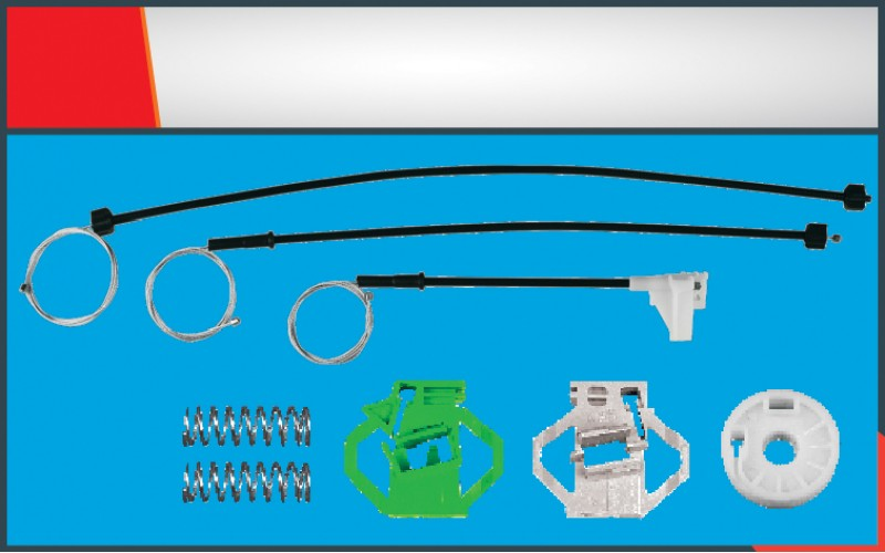 POLO CLASSIC WINDOW REGULATOR CABLE FRONT- LEFT SET