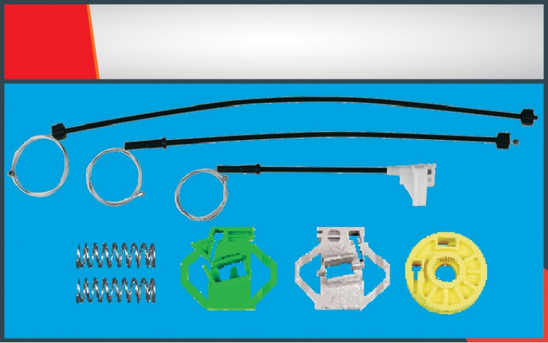 POLO CLASSIC NEW MODEL WINDOW REGULATOR CABLE FRONT- LEFT SET