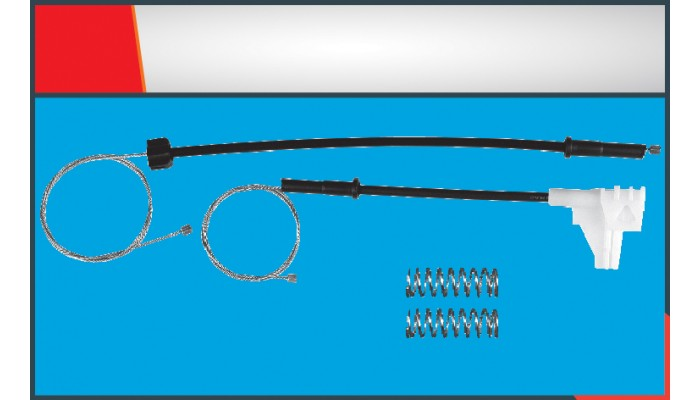 POLO CLASSIC NEW MODEL WINDOW REGULATOR CABLE REAR...
