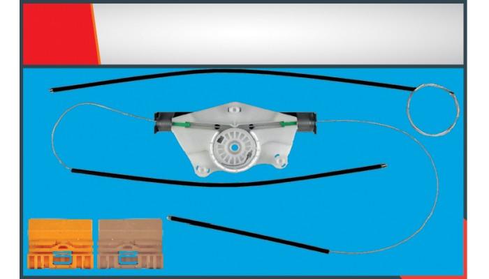 TOUAREG WINDOW REGULATOR CABLE  REAR RIGHT SET WIT...