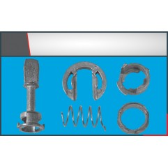 DOOR LOCK LOCKING BAR SMALL (4) SET (45mm)
