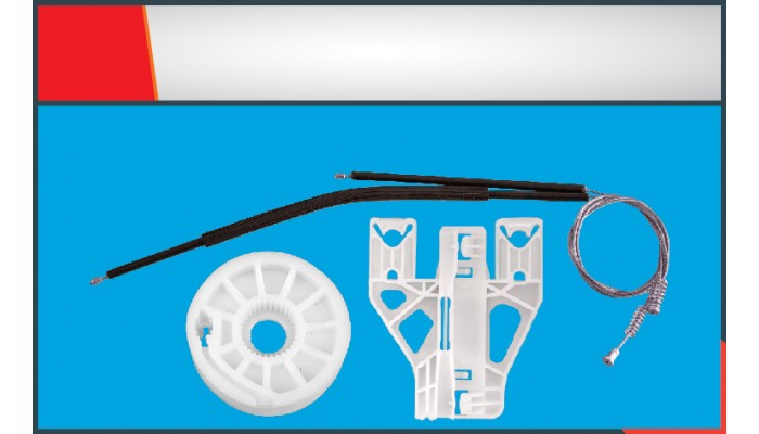 Q5 WINDOW REGULATOR CABLE REAR RIGHT SET