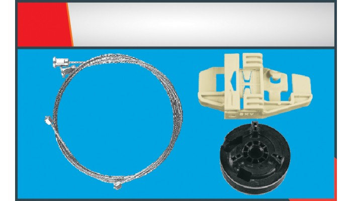 MODUS WINDOW REGULATOR CABLE FRONT RIGHT SET