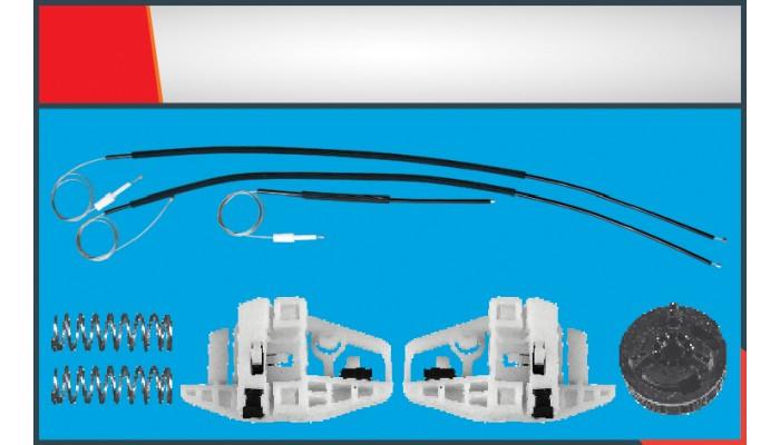 MEGANE 2  TWO DOORS WINDOW REGULATOR CABLE LEFT SE...