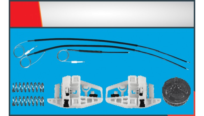 MEGANE 2  TWO DOORS WINDOW REGULATOR CABLE RIGHT S...