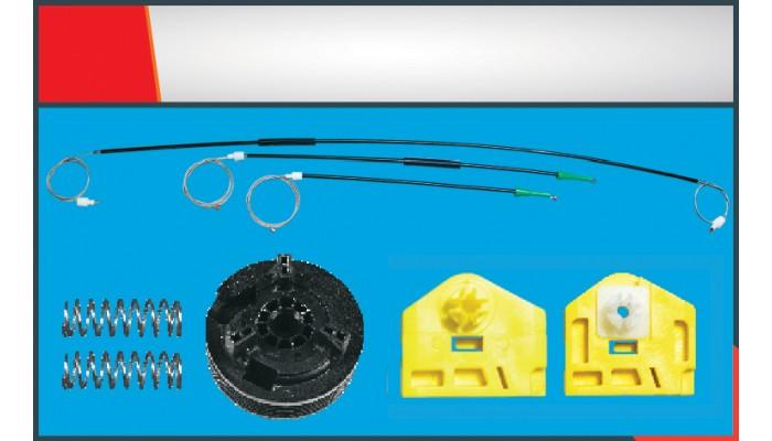KANGOO WINDOW REGULATOR CABLE FRONT LEFT SET