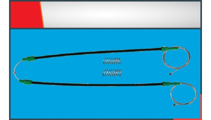 X3 WINDOW REGULATOR CLIP REAR RIGHT-LEFT