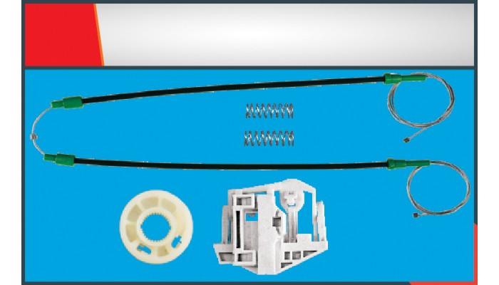 X3 WINDOW REGULATOR CABLE REAR LEFT SET