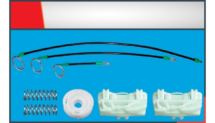 FREELANDER WINDOW REGULATOR CABLE FRONT RIGHT SET