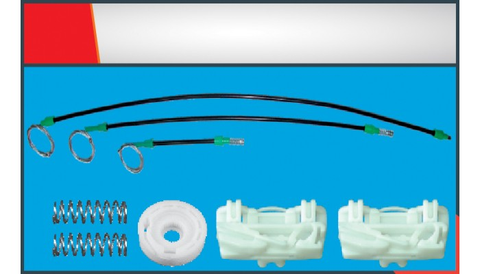 FREELANDER WINDOW REGULATOR CABLE FRONT LEFT SET