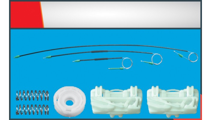 FREELANDER COUPE WINDOW REGULATOR CABLE LEFT SET
