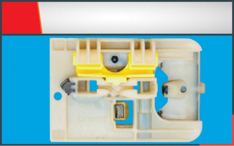 GOLF(2013) WINDOW REGULATOR CLIP FRONT LEFT