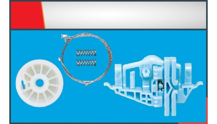 DOBLO 2011 WINDOW REGULATOR CABLE FRONT LEFT SET