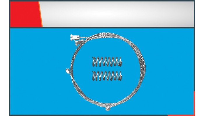508  WINDOW REGULATOR CABLE FRONT-REAR RIGHT/LEFT