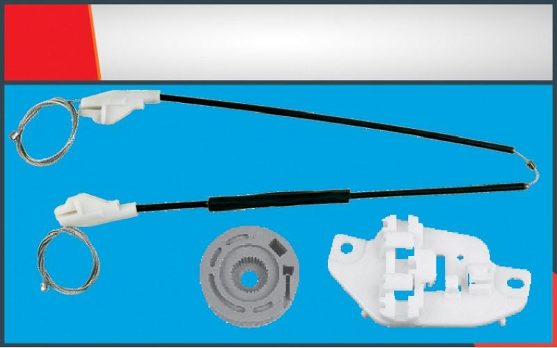 ACCENT OLD MODEL WINDOW REGULATOR CABLE REAR LEFT SET