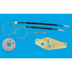 TOYOTA COROLLA WINDOW REGULATOR CABLE FRONT LEFT S...