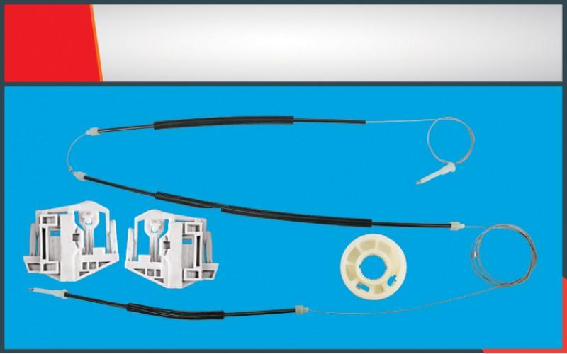 X3 WINDOW REGULATOR CABLE FRONT LEFT SET