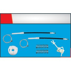FIAT PANDA WINDOW REGULATOR CABLE LEFT SET
