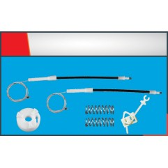 FIAT PANDA WINDOW REGULATOR CABLE RIGHT SET