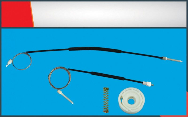 VOLVO C70 COUPE WINDOW REGULATOR CABLE LEFT RIGHT SET